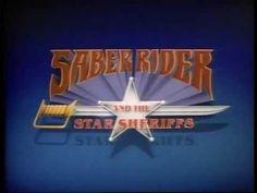 (Saber Rider) El Jinete Sable y los Comisarios Estrella intro - Series d...