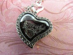 Floating Heart Locket with Marriage in Mind by JRCsJEWELRY on Etsy