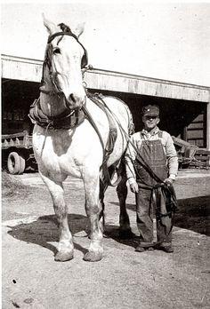 Jack Hackney and Buddy Coldwater, Kansas (1945)