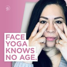 At what age should you begin Face Yoga? #faceyoga Face Yoga Exercises, Facial Yoga, Yoga Fitness, Yoga Poses, Age, Princess, Princesses
