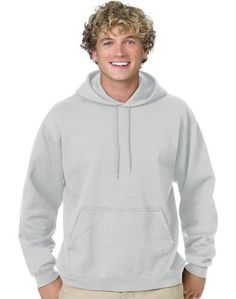 caccb08c6a3a Hanes ComfortBlend® EcoSmart® Pullover Hoodie Sweatshirt Cardinal size M  polyester fleece hoodie over your head durable fleece with double-needle ...