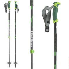 Black Diamond Pure Carbon Adjustable Ski Poles 2015
