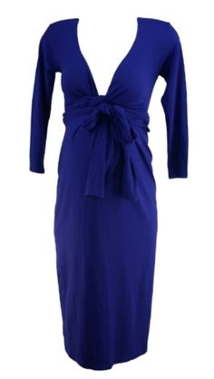 Violet Isabella Oliver Sleeve Wrap Maternity Dress (Gently Used - Size - Motherhood Closet - Maternity Consignment Designer Maternity Clothes, Maternity Dresses, Dresses For Work, Formal Dresses, Size 2, Wrap Dress, Sleeves, Closet, Fashion