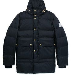 Moncler Gamme Bleu Quilted Twill Down Jacket