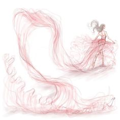 8b17b26e61d4 Dancer - Shamekh Bluwi Fashion Illustration Sketches