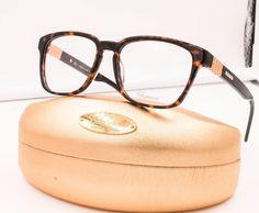 Chopard VCH 143 0722 Havana Brown 23 KT Gold Plated RX Eyeglasses NWC 54mm  #Chopard
