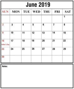 June 2019 Calendar Printable Blank Template in PDF, Word, Excel With Holidays Desktop Calendar, Calendar Wallpaper, Calendar Pages, Month Of June Calendar, 2021 Calendar, Calendar 2019 Template, Calendar Printable, Printable Templates, Federal Holiday Calendar