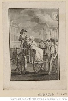 Marie-Antoinette brought to the guillotine. French Revolution History, French History, Napoleon, Louis Xvi, Roi Louis, French Royalty, Forensic Anthropology, Empire, King Henry