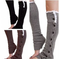 Comfy Leg Warmers  Comfy Leg Warmers4 Colors Available: Black, Dark Grey, White, Grey                                        Listing Is Only For 1 Pair of Leg Warmers                                        PLEASE DO NOT PURCHASE THIS LISTING             Message me below with your color selection and I will create a personalized listing for you Accessories Hosiery & Socks