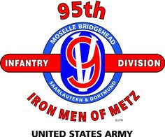 """95TH INFANTRY DIVISION """"IRON MEN OF METZ"""" """" U.S. MILITARY CAMPAIGNS LAMINATED PRINT ON 18"""" x 24"""" QUARTER INCH THICK POSTER BOARD 95TH INFANTRY DIVISION,http://www.amazon.com/dp/B00BRNC3FE/ref=cm_sw_r_pi_dp_AWahsb1CP3BW68ET"""