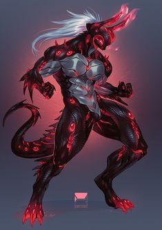 Monster Concept Art, Fantasy Monster, Monster Art, Fantasy Character Design, Character Design Inspiration, Character Art, Creature Concept Art, Creature Design, Fantasy Armor