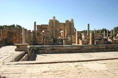 Hadrianic Baths, Leptis Magna, Libya