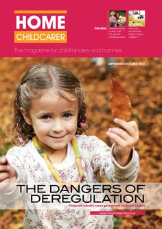 Home Childcarer Issue 1 Front Cover!