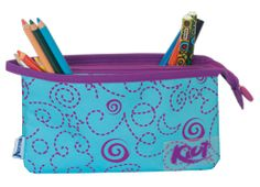 cartuchera Kiut de Norma Cami, Back To School, Coin Purse, Stationery, Wallet, Purses, Cool Stuff, Ideas, Shopping