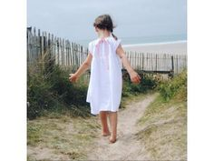 LENI soft cotton musselin dress, vintagedress, kidswear, kindermode, kinderkleidung, vintage