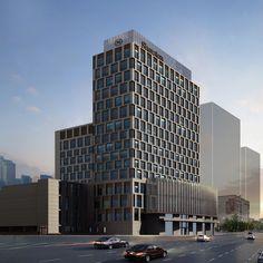 Sheraton Daegu Hotel ***** (Тэгу, Корея). Дата открытия - октябрь 2014.