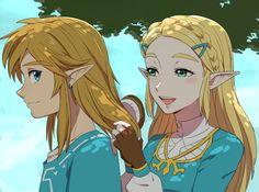 Tags: Fanart, Zelda no Densetsu, Pixiv, Link, Princess Zelda, PNG Conversion, Fanart From Pixiv, Pixiv Id 3845604, Zelda no Densetsu: Breath of the Wild, Link (Breath of the Wild), Zelda (Breath of the Wild)
