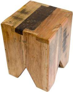 Banco Volpi em madeira de demolição                              …