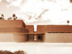 Yves Saint Laurent museum in Marrakech by Studio KO > A museum devoted entirely to the work of Yves Saint Laurent will open its doors in October 2017, in Marrakech. The interior design of this project was entrusted to the French architectural firm Studio KO. #interiordesign #yvessaintlaurent #studioKO @des