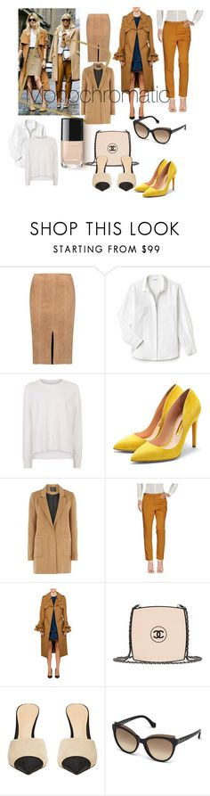 """Monocromático"" by karen-ponce-1 ❤ liked on Polyvore featuring Alice + Olivia, Lacoste, Sweaty Betty, Rupert Sanderson, mel, Momonì, Karen Walker, Chanel and Balenciaga"