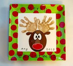 Image result for christmas handprint ideas