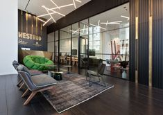 Office Tour: Westhod Offices – Hod Hasharon, You can find Offices and more on our website. Interior Design Pictures, Interior Design Software, Interior Design Images, Salon Interior Design, Interior Design Philippines, Luxury Office, Lobby Design, Lounge Design, Led Lampe