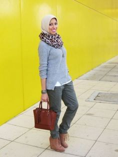 cargo pants casual hijab, How to get hijab trendy looks http://www.justtrendygirls.com/how-to-get-hijab-trendy-looks/