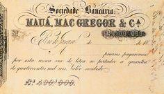 Nota de Promissória da Sociedade Bancária – Mac Gregor & Cia., c. 1850 – Museu Histórico Nacional