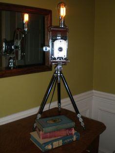 Cool Repurposed Lamp