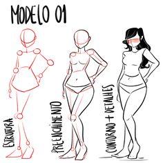 Human Body Drawing, Drawing Body Poses, Body Reference Drawing, Drawing Reference Poses, Draw Tutorial, Body Drawing Tutorial, Cartoon Tutorial, Human Anatomy Art, Anatomy Drawing