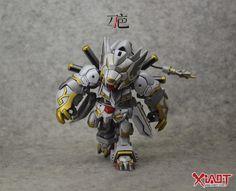 SD Gundam EX-STANDARD Gundam Barbatos - Customized Build     Modeled by 刀疤