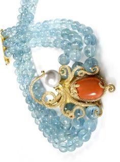 Coralli, anemoni di mare, conchiglie. Tesori preziosissimi incantano i cahiers de dessin. Di Martina Zanicotti