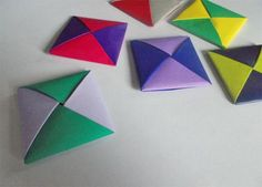Learn how to fold ddakji disks from origami paper and use them to play the traditonal ddakji Korean game.