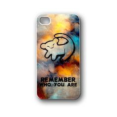 remember lion quotes - iPhone 4/4S/5/5S/5C, Case - Samsung Galaxy S3/S4/NOTE/Mini, Cover, Accessories,Gift