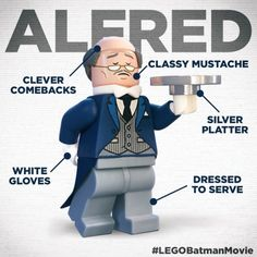 The LEGO Batman Movie Character Profile: Alfred