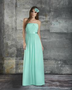 Bari Jay Bridesmaids Collection - 665. More colors available. Elaine's Wedding Center