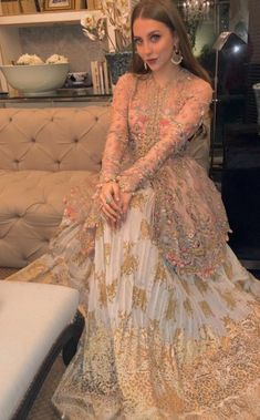 Informal Wedding Dresses, Desi Wedding Dresses, Asian Bridal Dresses, Pakistani Wedding Outfits, Pakistani Bridal Wear, Party Wear Dresses, Wedding Wear, Pakistani Fashion Casual, Pakistani Dresses Casual