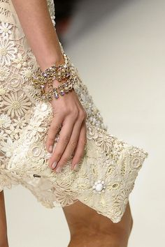 notordinaryfashion:    Love    anyone know the designer? It looks like it could be Blumarine…