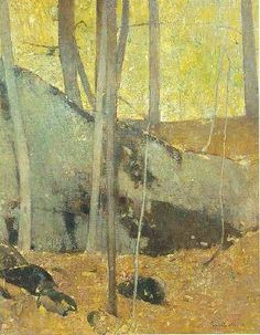 Autumn in the Woods, 1929 Emil Carlsen [1848-1932] Oil on canvas 28 x 22-1/4 inches