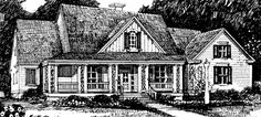 Sl024 kari this is it modern colonial pinterest for Southern living house plans with keeping rooms