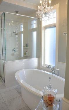 Glass Shower and Tub