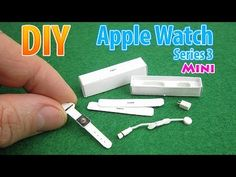 (11) DIY Realistic Miniature Apple Watch Series 3 | DollHouse | ¡Sin arcilla polimérica! - YouTube