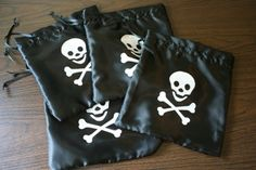 Pirate party favors tutorial