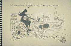 Bicicleta = Equilibrio