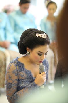 Turquoise Wedding of Nita and Ucha Javanese Wedding, Foto Wedding, Kebaya, Wedding Decorations, Wedding Ideas, Candid, Turquoise, Engagement, Bride