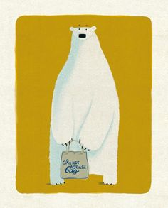 """""""Just seen that the theme for June's is polar bears. I've got one of those and his name is Clive."""