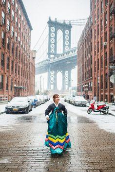 Snap by BOM : 뉴욕 스냅 촬영/ 허니문 스냅 사진 | 뉴욕 한복 여행 스냅 - Snap by BOM : 뉴욕 스냅 촬영/ 허니문 스냅 사진