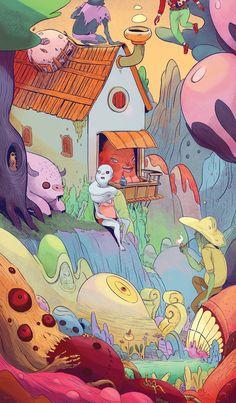 theartofanimation: Boya Sun | Exhibition-ism