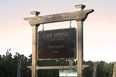 Cave Spring Winery-makers of awesome wines-my favorite is their Indian Summer Late Harvest Riesling-to die for! Cave Spring, Indian Summer, Google Images, Wines, Harvest, Vineyard, Backyard, Awesome, Outdoor Decor