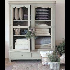 Schrank BEAUMANOIR Wäscheschrank für's Badezimmer